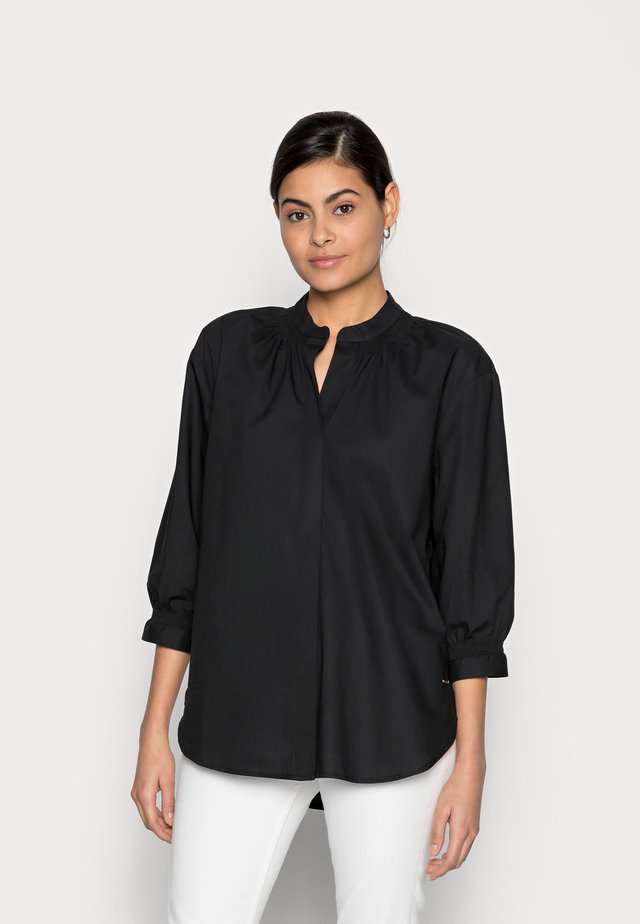 Blouse - deep black
