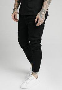 SIKSILK - CUFFED - Skinny džíny - black - 0