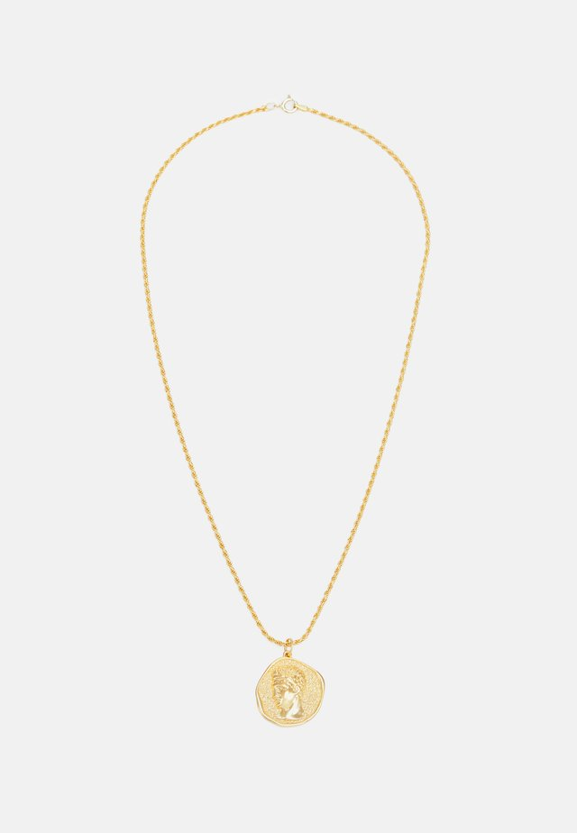 HERMIS LARGE PENDANTTHICK CORD CHAIN - Collier - gold-coloured