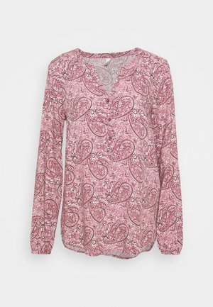 ODELIA - Long sleeved top - dark pink/rose combi