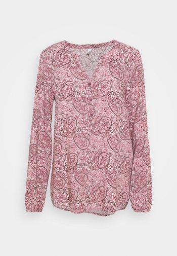 ODELIA - Longsleeve - dark pink/rose combi