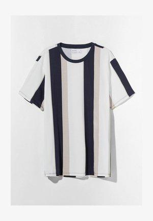 T RAYA  - Print T-shirt - beige