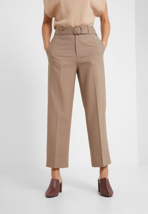 ASTRID PANT - Trousers - tabac
