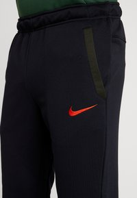 Nike Performance - Trainingsbroek - black/sequoia/electric green/habanero red - 4