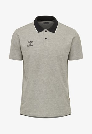 HMLMOVE - Poloshirt - grey melange