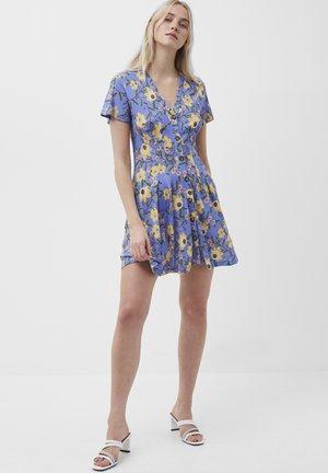 Jersey dress - bay blue multi