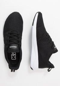 Kappa - CUMBER - Sports shoes - black/white - 1