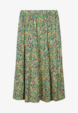 A-line skirt - paradise green