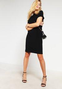 mbyM - LINEA - Jersey dress - black - 1