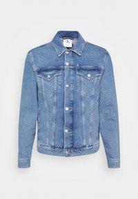 PRIDE GRAPHIC JACKET UNISEX - Denim jacket - blue denim