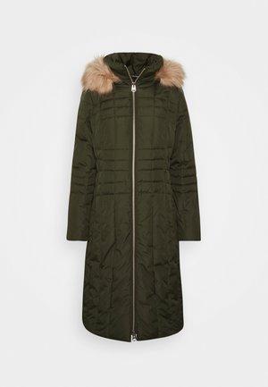 ESSENTIAL COAT - Winter coat - dark olive