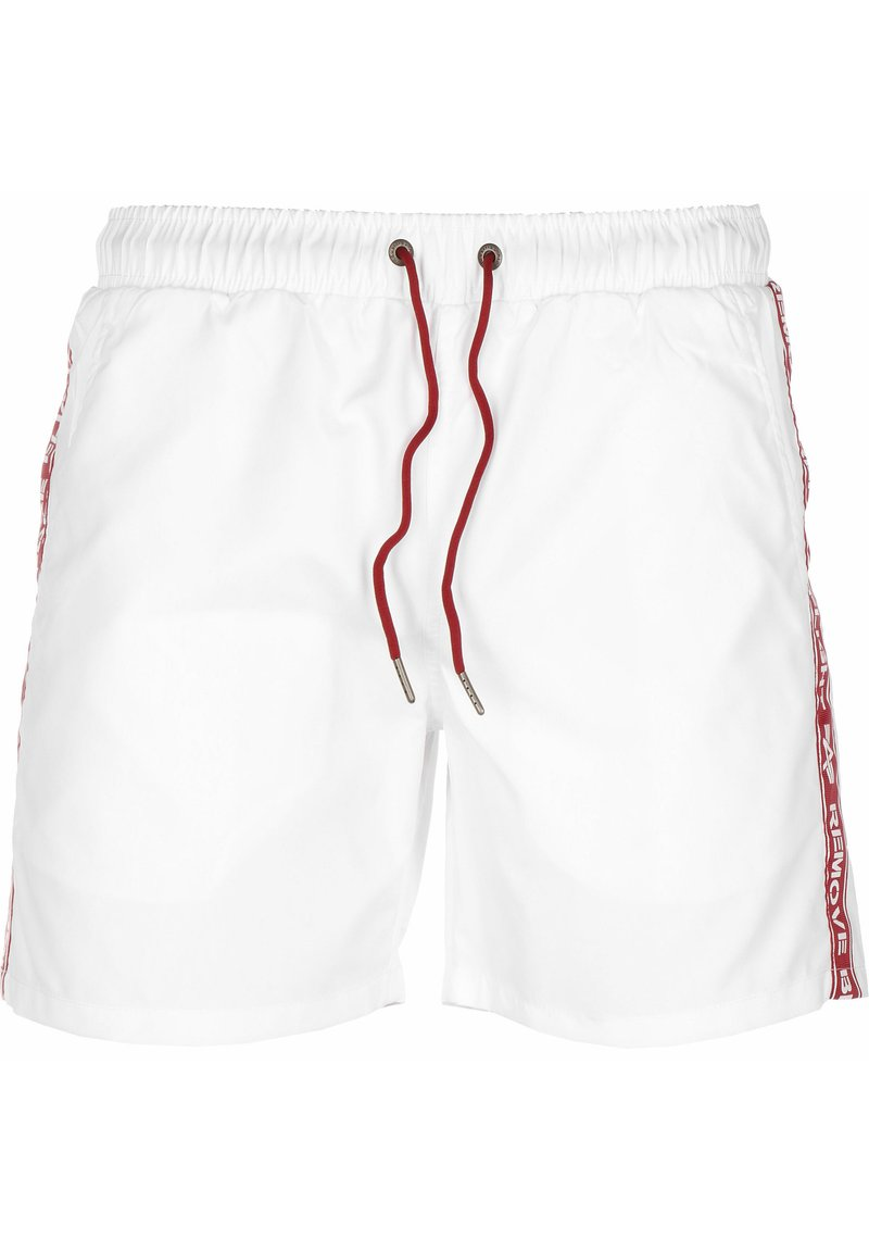 Alpha Industries - Swimming shorts - white