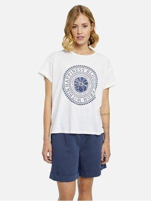 Print T-shirt - ocean print