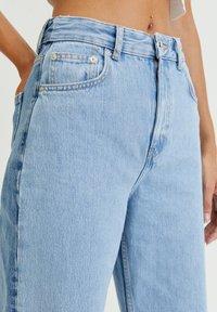 PULL&BEAR - Jeans straight leg - light blue - 3