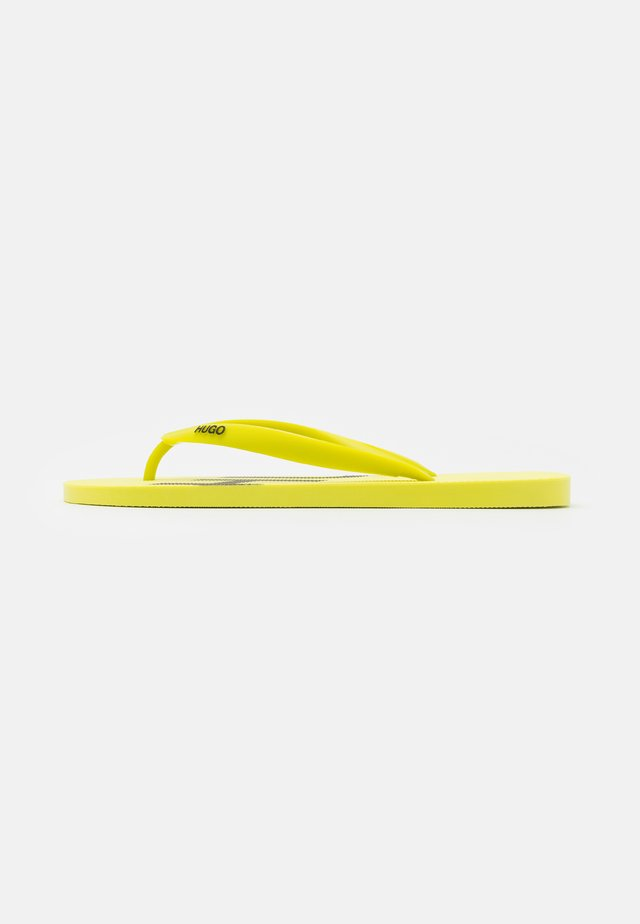 ONFIRE - Chanclas de dedo - bright yellow