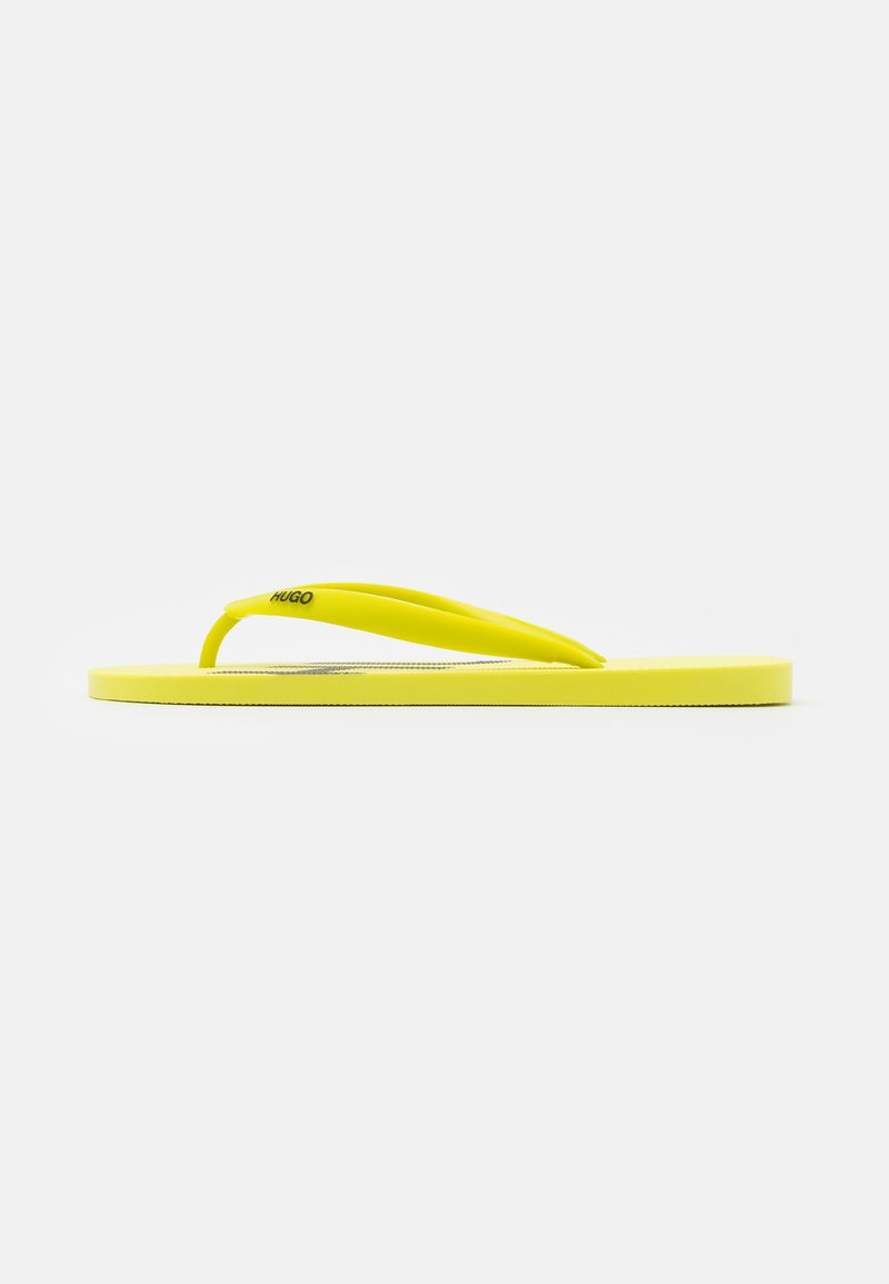 HUGO - ONFIRE - Chanclas de dedo - bright yellow