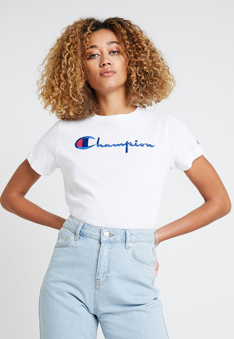 Champion Reverse Weave - T-shirts med print - white