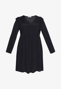 Cotton On Curve - BRITT BABYDOLL MINI DRESS - Sukienka letnia - black - 4