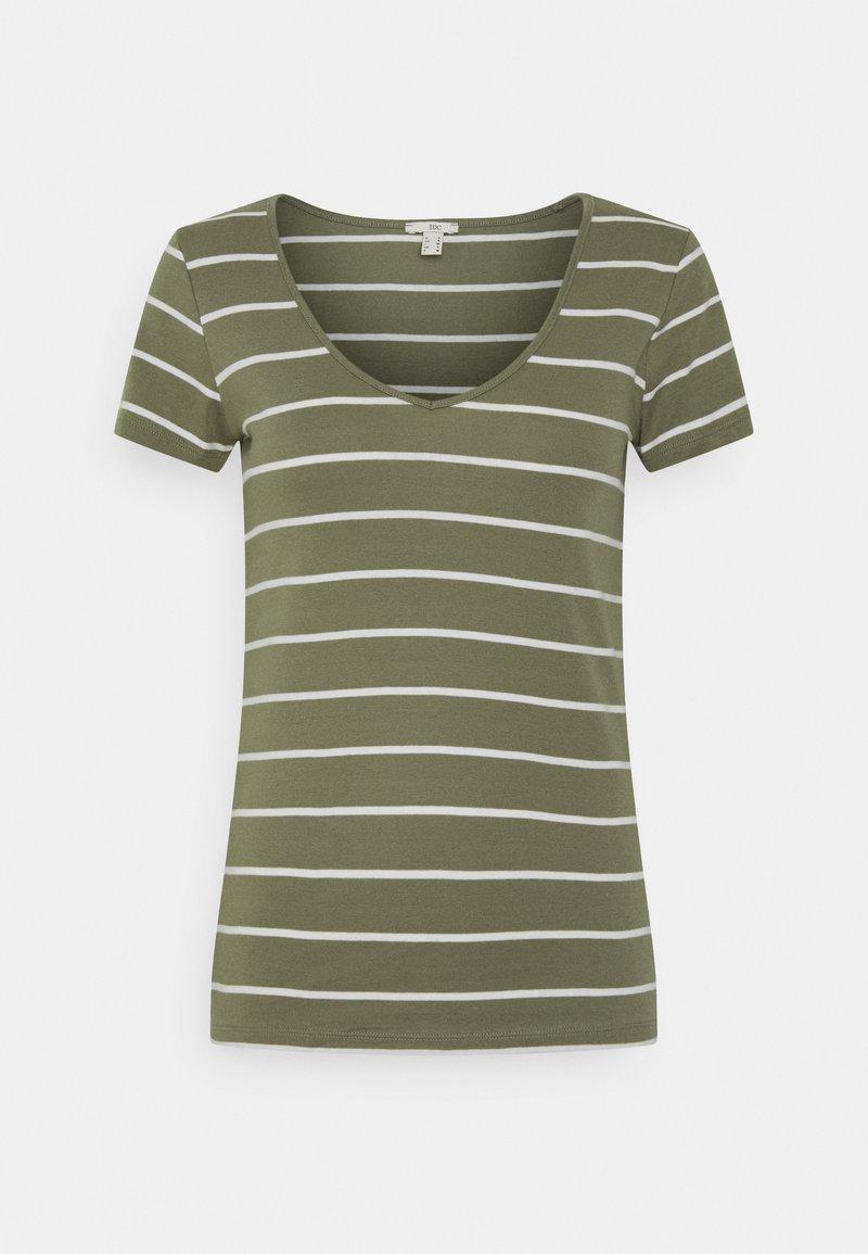 edc by Esprit - Print T-shirt - light khaki
