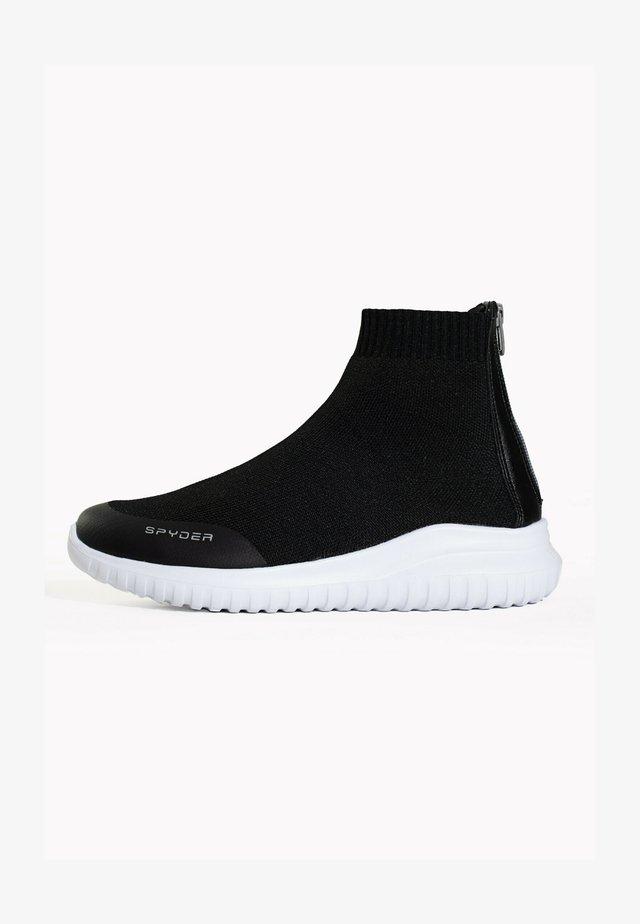 BASKETS LEON - Sneakersy wysokie - dark grey