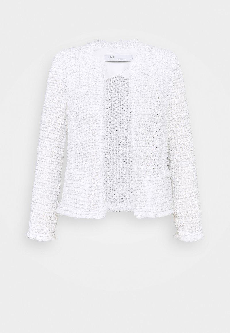 Iro - SHIRAZA - Kevyt takki - silver/white