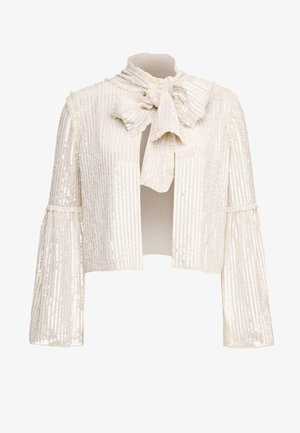 GLOSS BOW JACKET  - Chaqueta fina - pearl rose