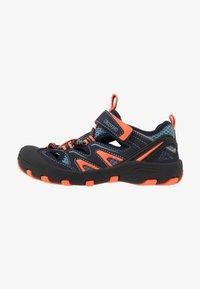 Kappa - REMINDER - Hiking shoes - navy/orange - 1