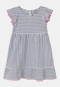 Lemon Beret - SMALL GIRLS - Day dress - blue/white - 0