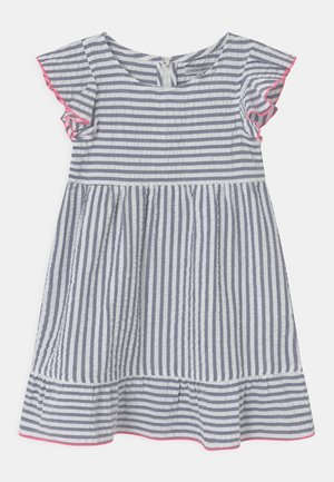SMALL GIRLS - Day dress - blue/white