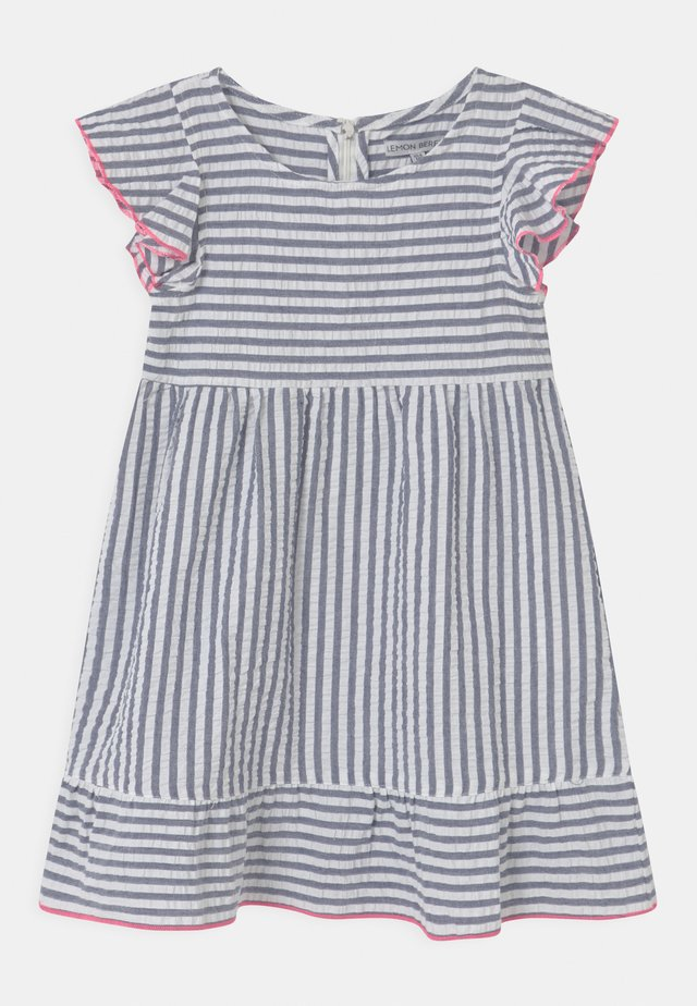 SMALL GIRLS - Day dress - blue/white