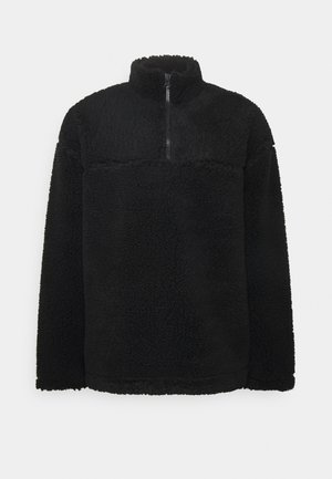 IVAN PILE HALFZIP UNISEX - Winter jacket - black