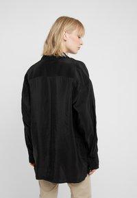 Filippa K - TECH - Button-down blouse - black - 2