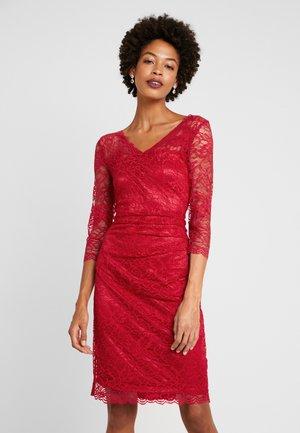 CLAUDIA  - Robe de soirée - haute red