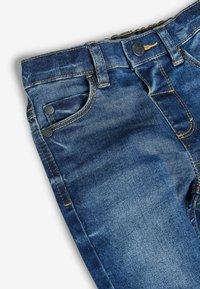 Next - Jean droit - mottled blue - 2