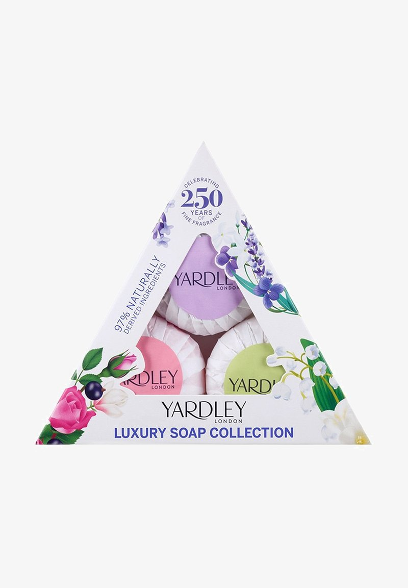 Yardley London - GEMISCHTES GÄSTESEIFENTRIO 3X50G - Soap bar - -