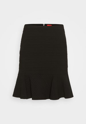 RALANA - Mini skirt - black