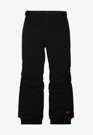 CHARM REGULAR PANTS - Zimní kalhoty - black out