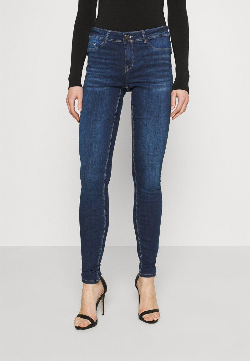 Noisy May - NMALICE  - Jeans Skinny Fit - dark blue denim