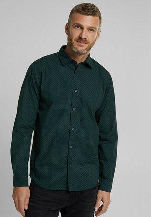 Shirt - dark teal green