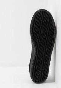 Nike SB - ZOOM JANOSKI - Slip-ons - black/photo blue/hyper pink - 4