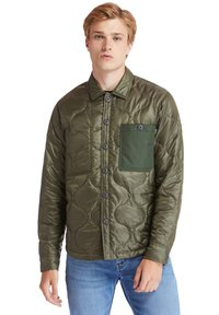 Timberland - LS MIX MEDIA ONION QUILT - Allvädersjacka - grape leaf - 0
