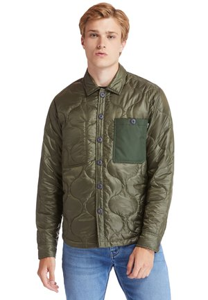 LS MIX MEDIA ONION QUILT - Light jacket - grape leaf