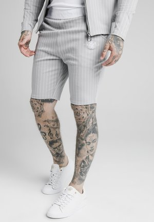 DUAL STRIPE - Kraťasy - grey/white