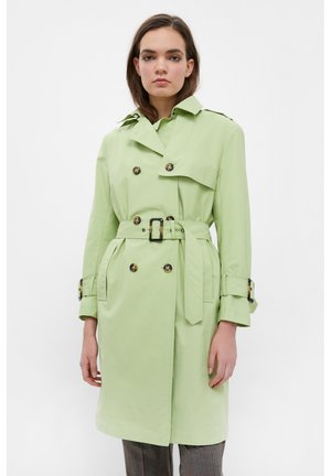 Trenchcoat - light green