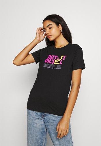 T-SILY-K6 - Print T-shirt - black