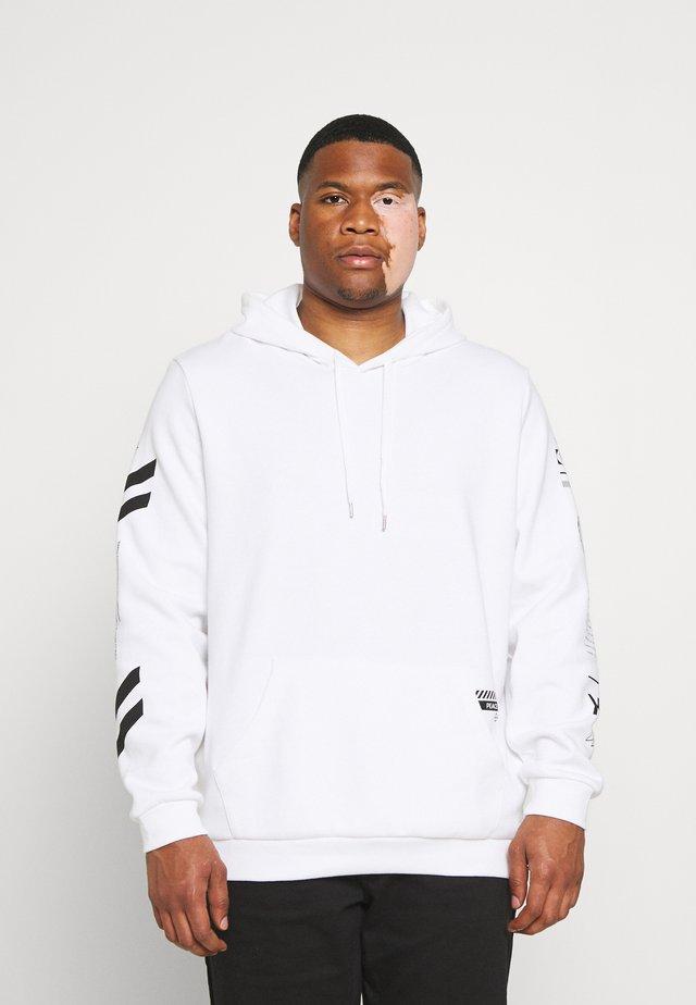 GRAPHIC PRINT HOODIE - Sweatshirt - white