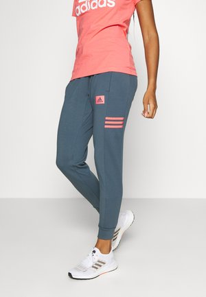 Pantalones deportivos - blue/light pink
