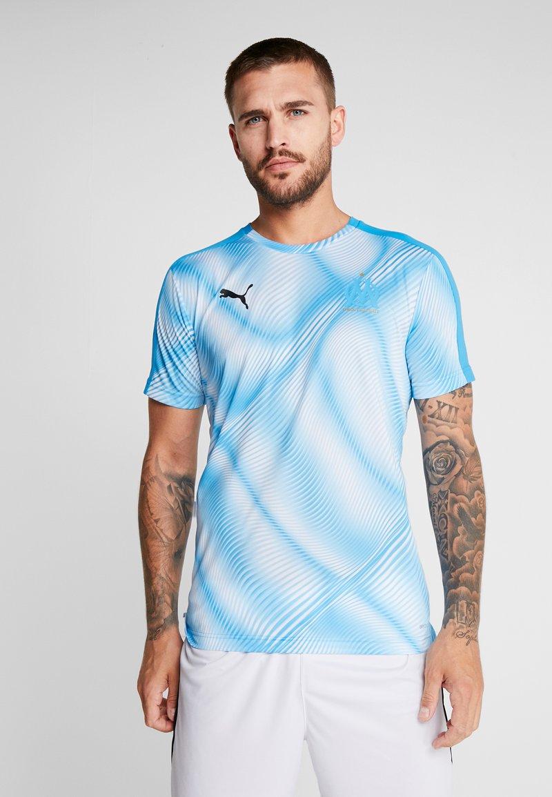 Puma - OLYMPIQUE MARSEILLE STADIUM D OLYMPIQUE MARSEILLE - Club wear - bleu azur/puma white