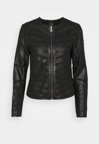 Gipsy - SURI LELEV - Leather jacket - black - 5