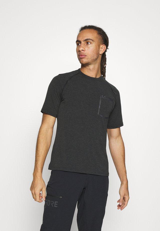 GIRO VENTURE II - T-shirt imprimé - black